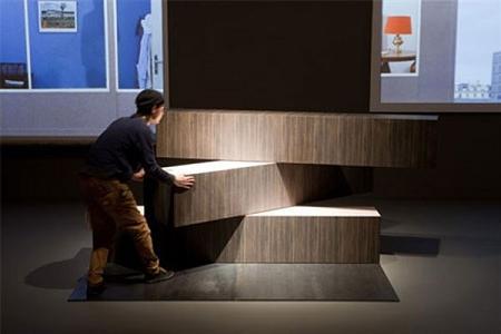 meubel van Rem Koolhaas: foto van OMA - Standaard
