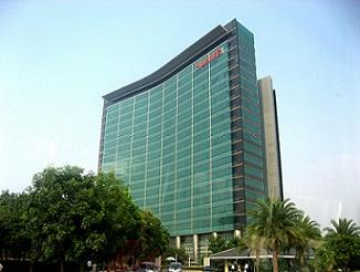 hoofdkantoor van Chinese fabrikant Huawei